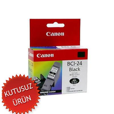 CANON - Canon BCI-24BK Siyah Orjinal Kartuş (U)