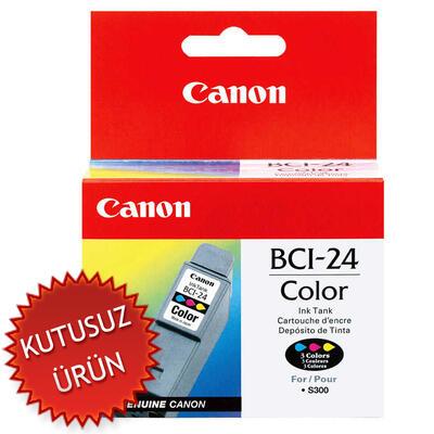 CANON - Canon BCI-24C Renkli Orjinal Kartuş (U)