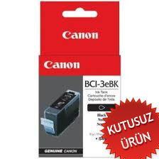 CANON - CANON BCI-3eBK SİYAH ORJİNAL KARTUŞ (U)