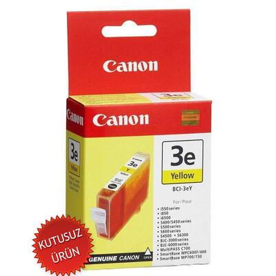 CANON - Canon BCI-3eY Sarı Orjinal Kartuş - BJC-3000 / i550 (U)