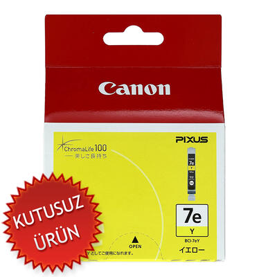 CANON - Canon BCI-7eY Sarı Orjinal Kartuş (U)