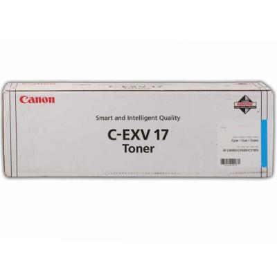 CANON - Canon C-EXV17 Mavi Orjinal Fotokopi Toneri IR-C4080 / C4580 / C5180 / C5185