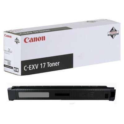 CANON - Canon C-EXV17 Siyah Orjinal Fotokopi Toneri IR-C4080 / C4580 / C5180 / C5185