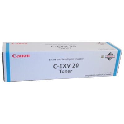 CANON - CANON C-EXV20 MAVİ ORJİNAL TONER