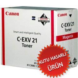 CANON - CANON C-EXV21 KIRMIZI ORJİNAL TONER (C)
