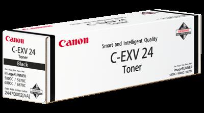 CANON - CANON C-EXV24BK SİYAH ORJİNAL TONER IR-C5068, C5058, C5800, C5870, C6880, C5880