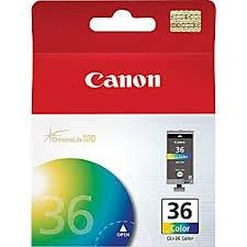 CANON - CANON CLI-36 RENKLİ ORJİNAL KARTUŞ - IP100 Mobil / mini260