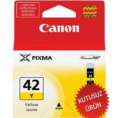 CANON - CANON CLI-42Y SARI ORJİNAL KARTUŞ (U)