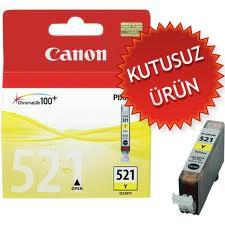 CANON - Canon CLI-521Y Sarı Orjinal Kartuş (U)