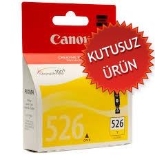 CANON - Canon CLI-526Y Sarı Orjinal Kartuş (U)