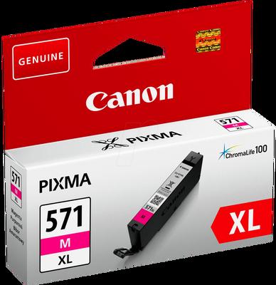 CANON - Canon CLI-571XL M Kırmızı Orjinal Kartuş Yüksek Kap. MG5700 / MG6800