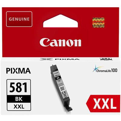 CANON - Canon CLI-581XXL BK Siyah Orjinal Kartuş TS6150, TS6250, TS8150, TS8250, TS9155