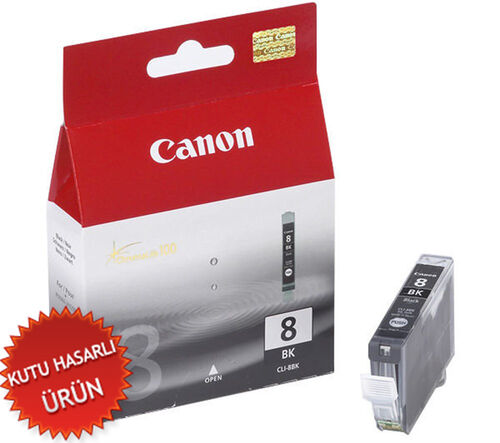 Canon CLI-8BK Siyah Orjinal Kartuş - IP3300 / IP4200 (C)