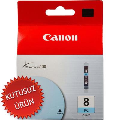 CANON - Canon CLI-8PC Foto Mavi Orjinal Kartuş (U)