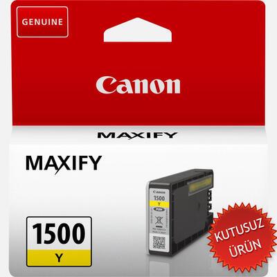 CANON - CANON PGI-1500Y Sarı Orjinal Kartuş Maxify MB2050 / MB2350 (U)