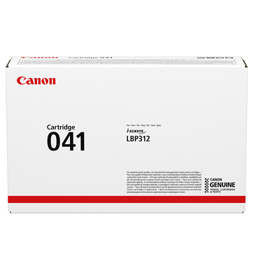 CANON - Canon CRG-041 Siyah Orjinal Toner 0452C002[AA] i-Sensys LBP312