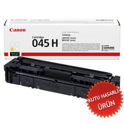 CANON - Canon CRG-045H Y Sarı Orjinal Toner 1243C002 MF631, MF632, MF633, MF634, MF636, LBP-613 (C)