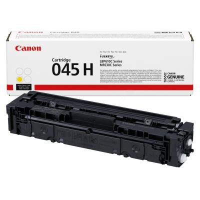 CANON - Canon CRG-045H Y Sarı Orjinal Toner 1243C002 MF631, MF632, MF633, MF634, MF636, LBP-613