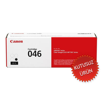 CANON - Canon CRG-046BK Siyah Orjinal Toner (U)