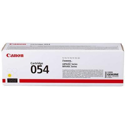 CANON - Canon CRG-054 Y Sarı Orjinal Toner (3021C002) LBP621, LBP623, MF-640, MF-641, MF-643, MF-644