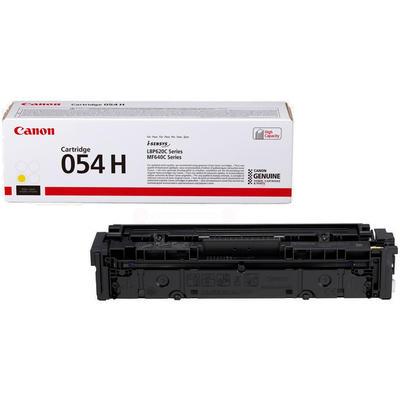 CANON - Canon CRG-054H Y Sarı Orjinal Toner (3025C002) LBP621, LBP623, MF-640, MF-641, MF-643, MF-644