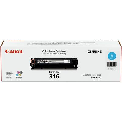 CANON - CANON CRG-316C Mavi Orjinal Toner - LBP5050 / MF8030Cn / MF8050Cn
