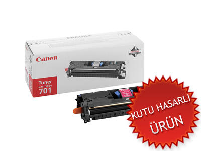 CANON - Canon CRG-701M Kırmızı Orjinal Toner - LBP5200 / MF8180 (C)