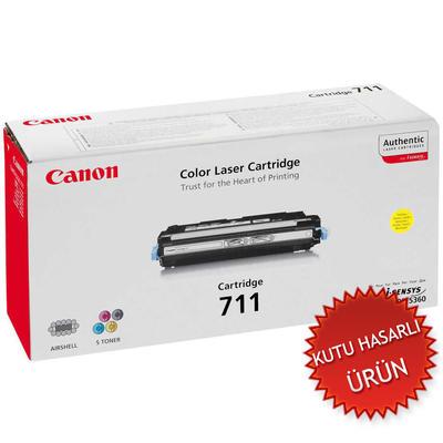 CANON - Canon CRG-711Y Sarı Renkli Orjinal Toner (C)
