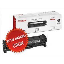 CANON - Canon CRG-718BK Siyah Orjinal Toner (C)