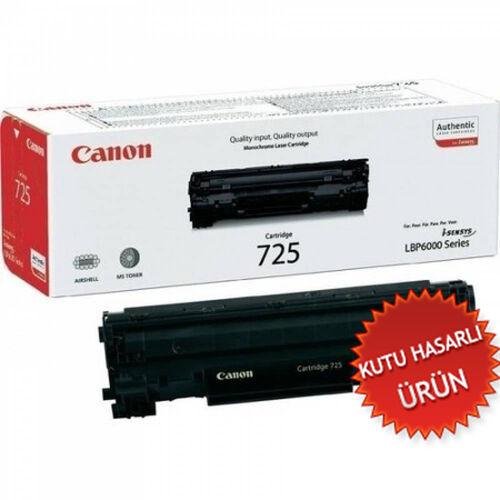 Canon CRG-725 Siyah Orjinal Toner - LBP6000/6030/MF3010 (C)