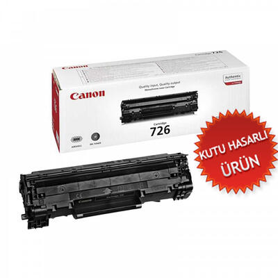 CANON - Canon CRG-726 Orjinal Siyah Toner - LBP-6200/LBP-6230 (C)