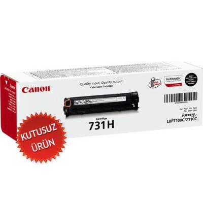 CANON - Canon CRG-731HBK Siyah Orjinal Toner Yüksek Kapasite (U)
