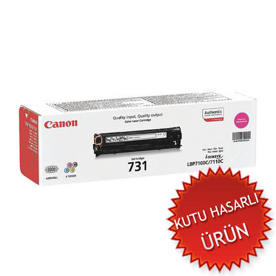 CANON - Canon CRG-731M Kırmızı Orjinal Toner (C)