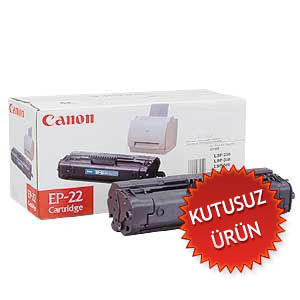 CANON - CANON EP-22 SİYAH ORJİNAL TONER (U)