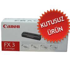 CANON - CANON FX-3 SİYAH ORJİNAL TONER (U)