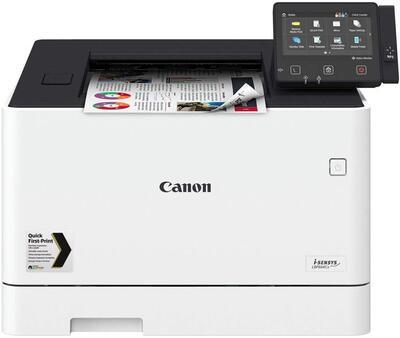 CANON - Canon i-Sensys LBP664Cx Wi-Fi + NFC + A4 Renkli Lazer Yazıcı