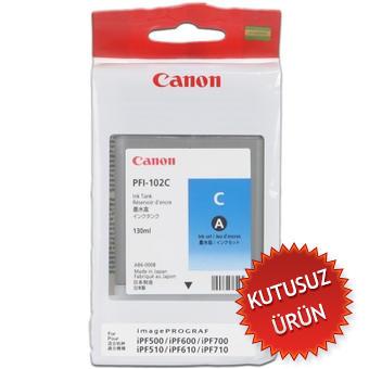 CANON - Canon PFI-102C Mavi Orjinal Kartuş - IPF500 / IPF600 / IPF700 (U)