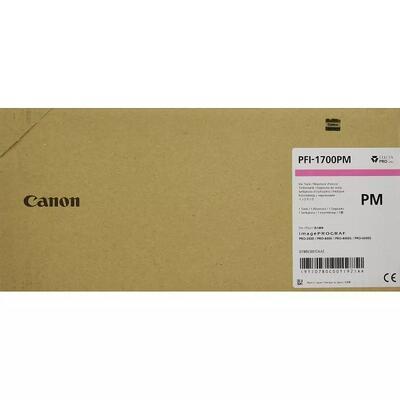 CANON - Canon PFI-1700PM Foto Kırmızı Orjinal Kartuş - PRO-2000 / PRO-4000