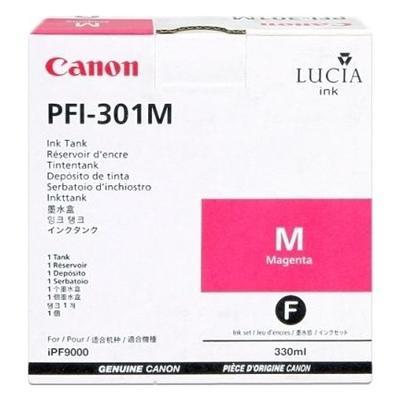 CANON - Canon PFI-301M Kırmızı Orjinal Kartuş 330 ml. iPF8000, iPF8100, iPF9000