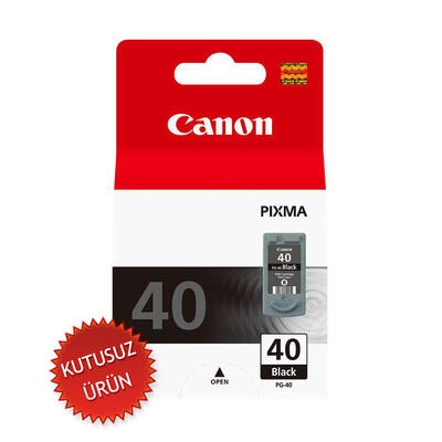 CANON - Canon PG-40 Siyah Orjinal Kartuş (U)