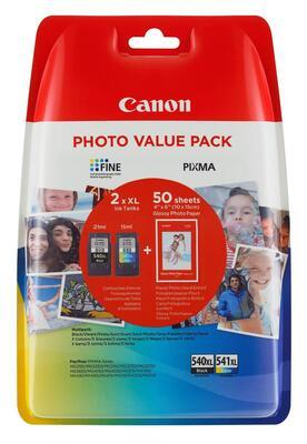 CANON - Canon PG-540XL / CL-541XL İkili Paket Orjinal Kartuş - PIXMA MG2150 / MG3150 / MX375