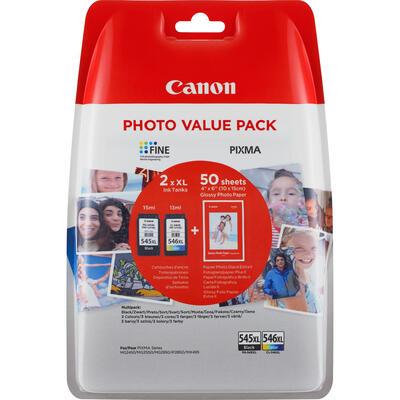 CANON - Canon PG-545XL / CL-546XL İkili Paket Orjinal Kartuş - Pixma MG2450 / MG2550