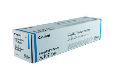 CANON - Canon T02 8530B001 Mavi Orjinal Toner ImagePress C8000VP / C10000VP