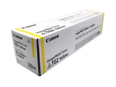 CANON - Canon T02 8532B001 Sarı Orjinal Toner ImagePress C8000VP / C10000VP