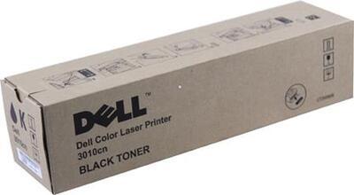 DELL - Dell 3010cn (CT200809) 593-10154 Siyah Orjinal Toner