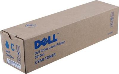 DELL - Dell 3010cn (CT200860) 593-10155 Mavi Orjinal Toner