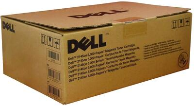 DELL - Dell 330-3791 Kırmızı Orjinal Toner - 2145CN (Yüksek Kapasite)