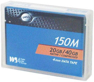 DELL - DELL 4MM DDS-4 40GB DATA KARTUŞ - 09W083