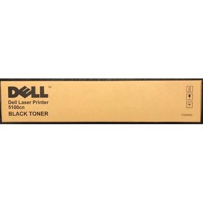 DELL - Dell 5100cn (CT200543) Siyah Orjinal Toner Yüksek Kapasite