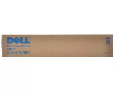 DELL - Dell 5100cn (CT200544) Mavi Orjinal Toner Yüksek Kapasite
